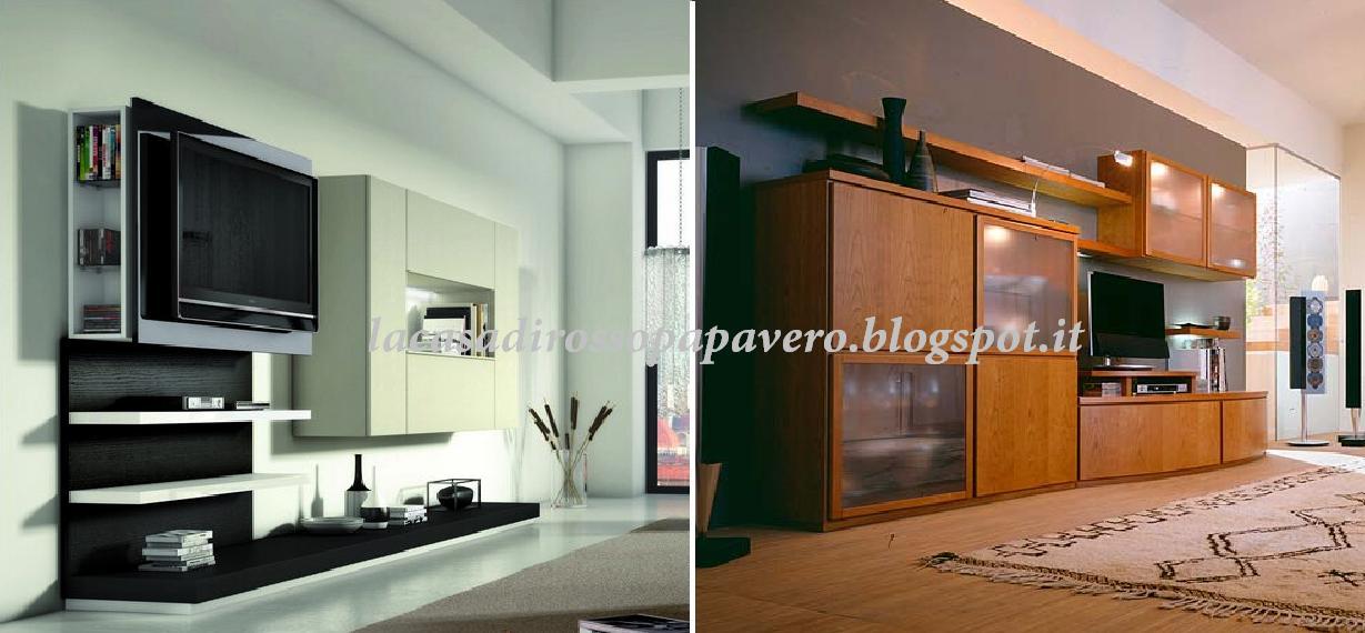 Inserire la tv in soggiorno blog arredamento - Altezza mobile tv ...