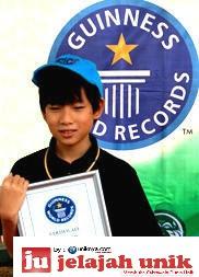 Orang Indonesia yang Masuk Guinness Book of Record