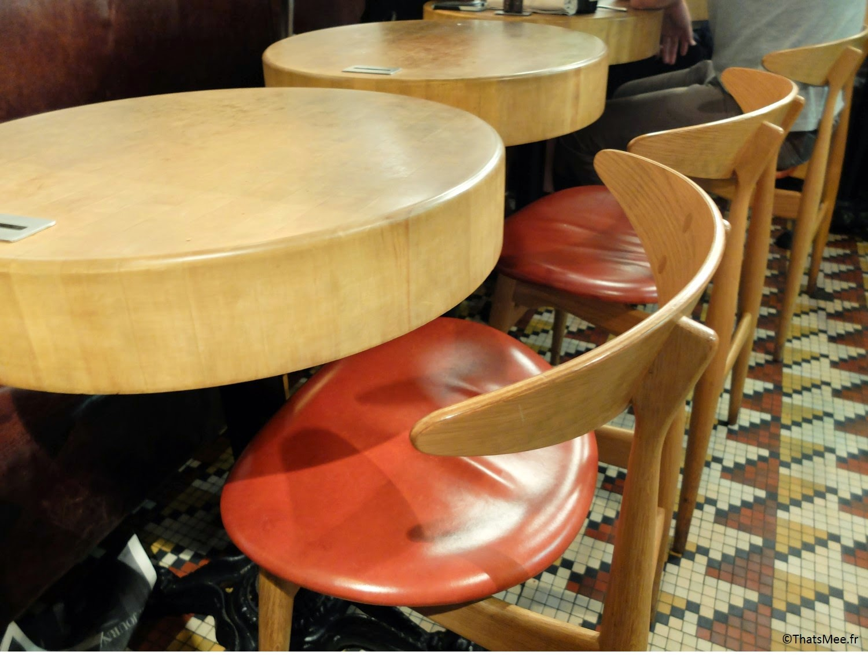 ddecoration chaise Restaurant Atelier Vivanda Akrame Paris spécialités viandes