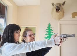 larangan ke atas senjata api