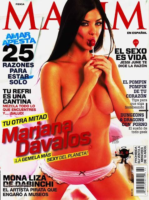 Mariana Davalos Nuked on Maxim Magazine