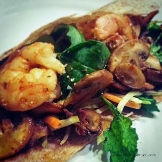 Shrimp Wrap Picture