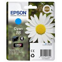 Cartucho Epson T1802 tinta cian