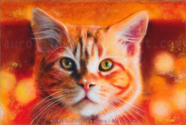 Cat Watercolors Paintings
