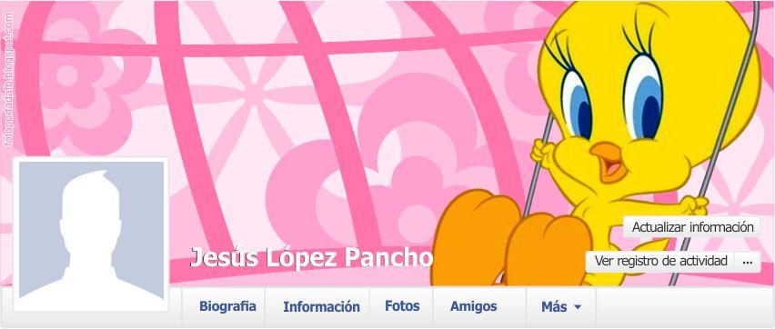 Muestra de portada para facebook con el tema de piolin