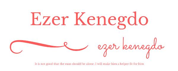 EZER KENEGDO / HELP MEET