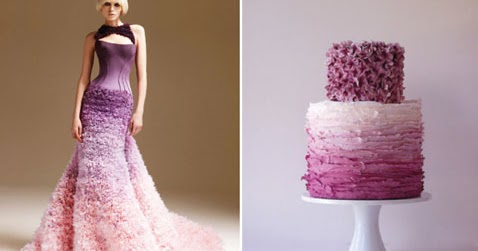 RainingBlossoms Top Five Wedding Cake Trends In 2012
