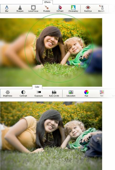 برنامج تعديل الصور PhotoPad