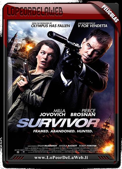 Survivor 2015 BRrip 720p Subtitulos Latino