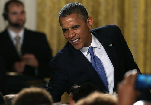 Hình ảnh chế hài hước của Obama - Cảm xúc vui, obama