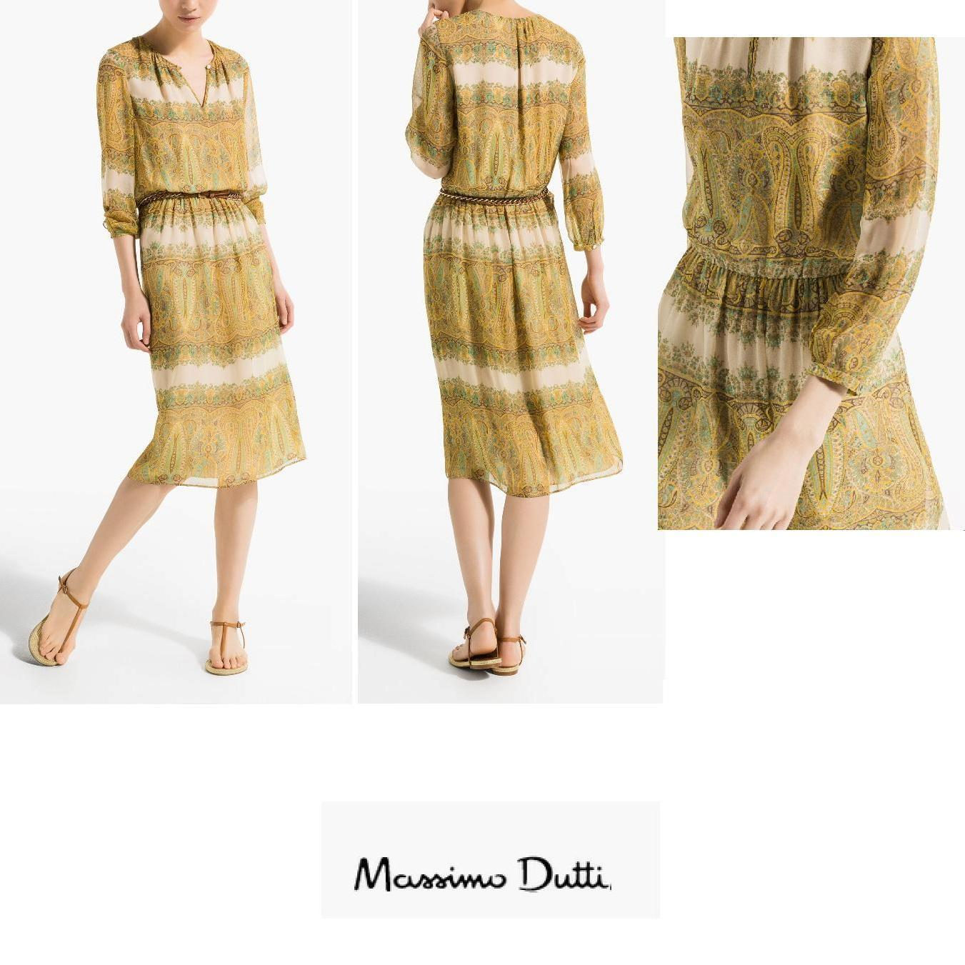 Crown Princess Mary Style - MASSIMO DUTTI Dresses