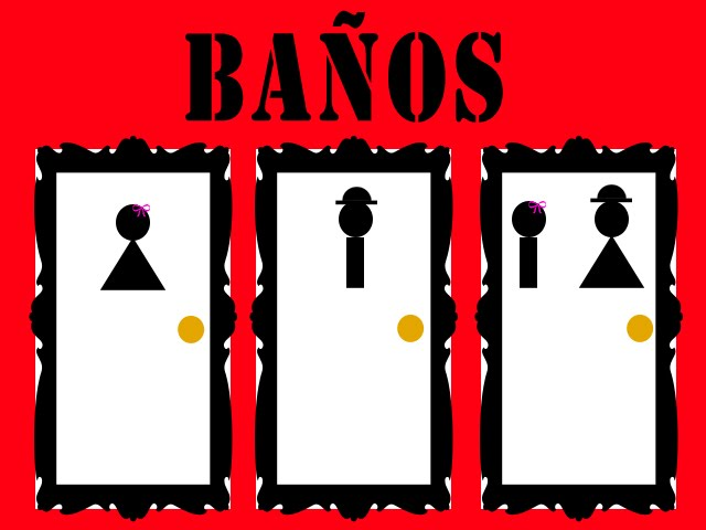 Queens kings lgbt pol mica en salta por la instalaci n - Banos publicos gay ...