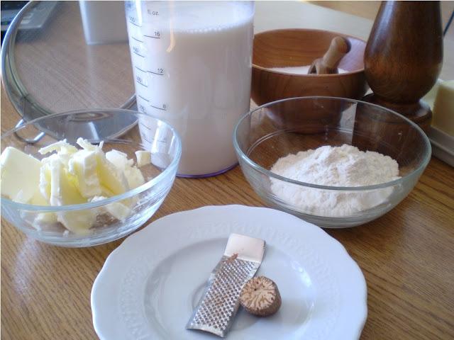 Besciamelle prepariamo gli ingredienti