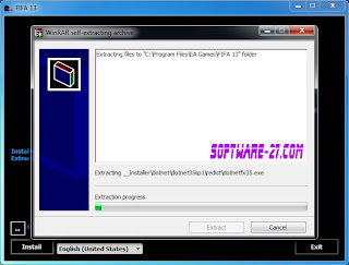extract file with installer