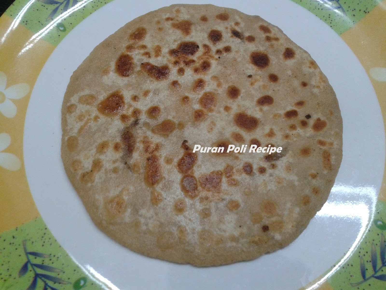 How to make Puran Poli