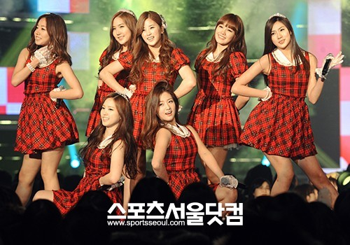 Girlband Korea yang seksi