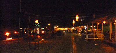 At the Ochheuteal beach side in Sihanoukville nightlife