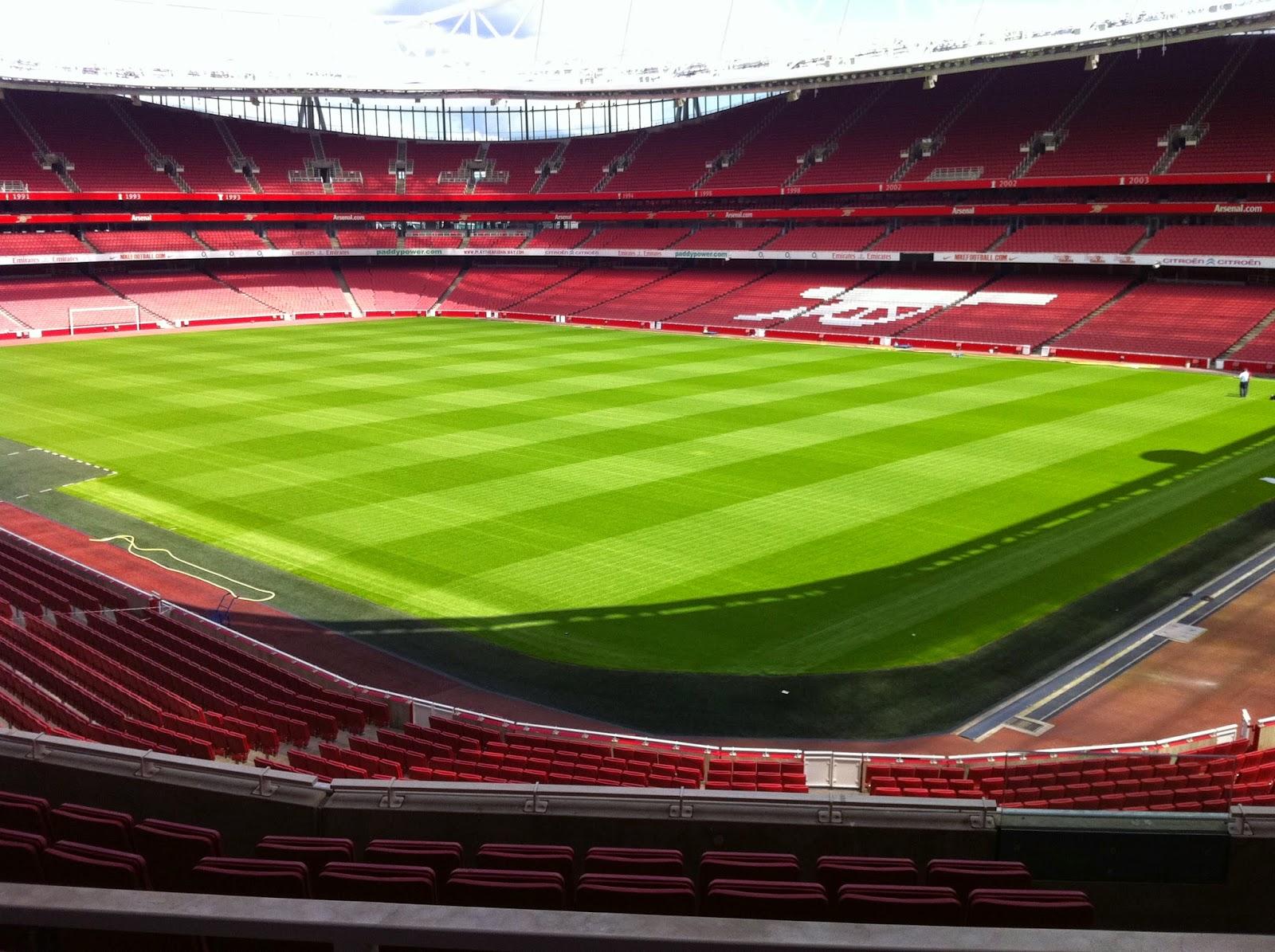 Emirates Stadium Pitch