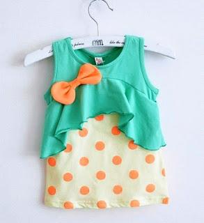 Gambar Baju Bayi Lucu Usia 10-12 Bulan
