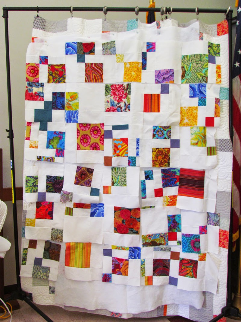 Liz Breaux using only Kaffe Fassett fabric - beautiful