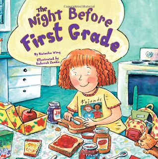 back to school books for first grade
