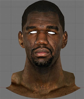 NBA 2K13 Greg Oden Cyberface Patch