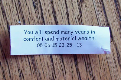You will spend many years in comfot and material wealth.