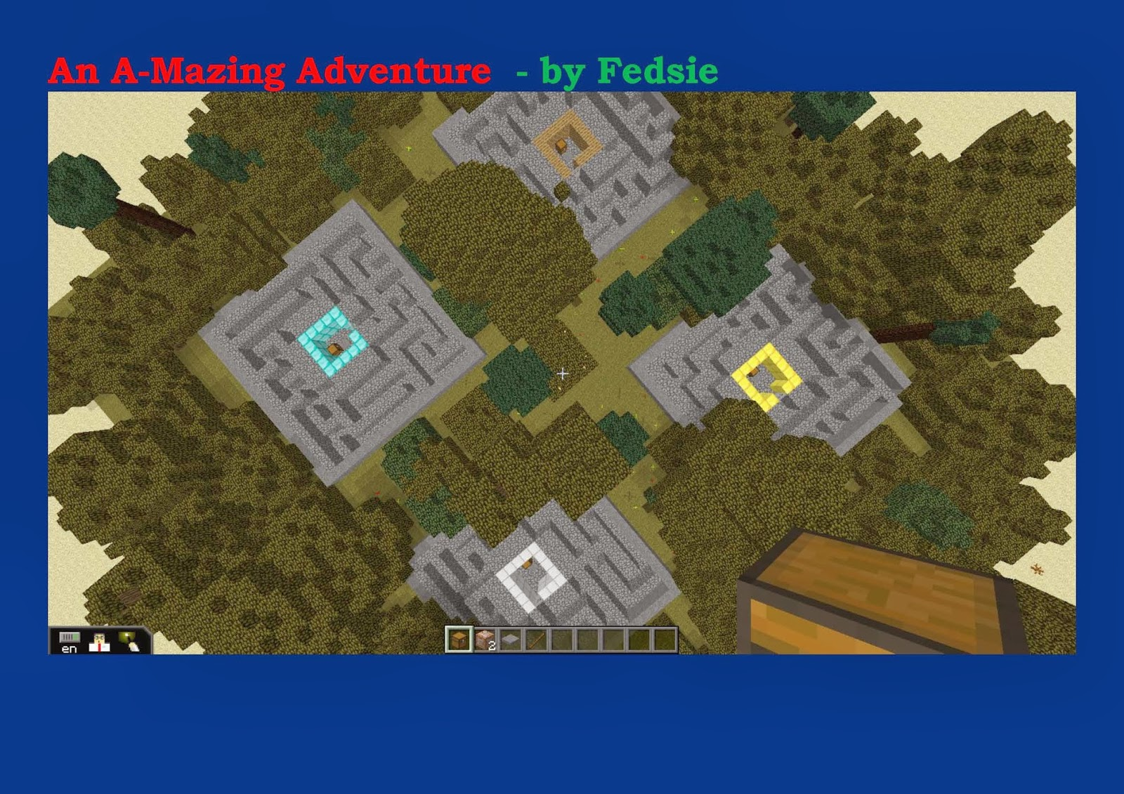 minecraft adventure map spielen