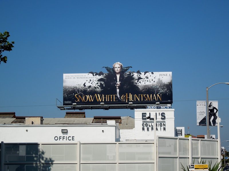 Snow White and the Huntsman billboard