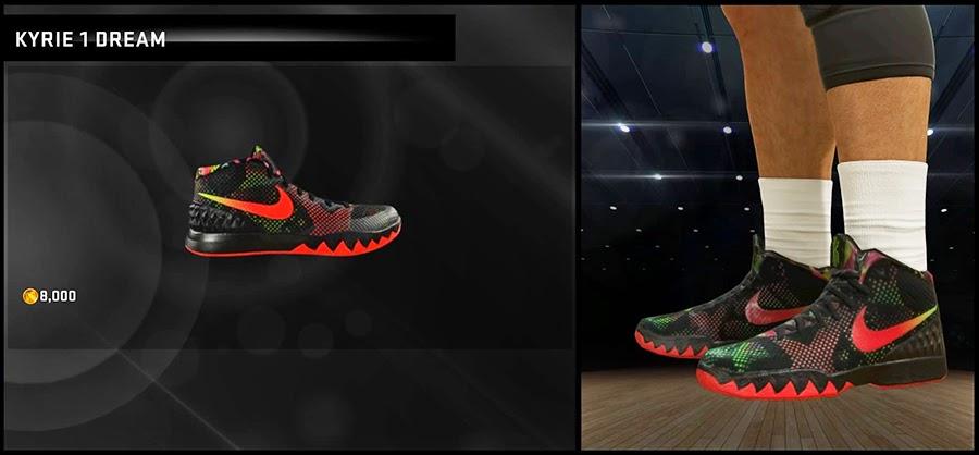 Kyrie 1 Dream NBA 2K15 Shoes