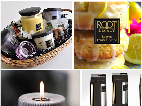 Root Candle Basket Giveaway