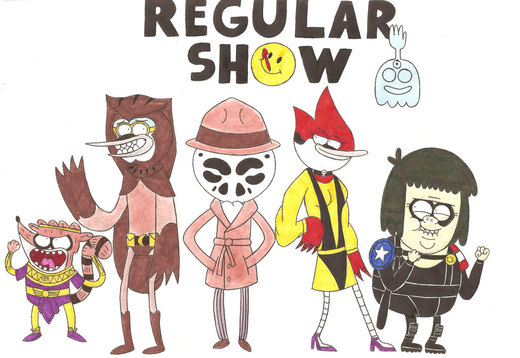 Regular WATCHMEN por nerdsman567