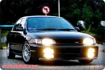Modifikasi Great Corolla FX Style