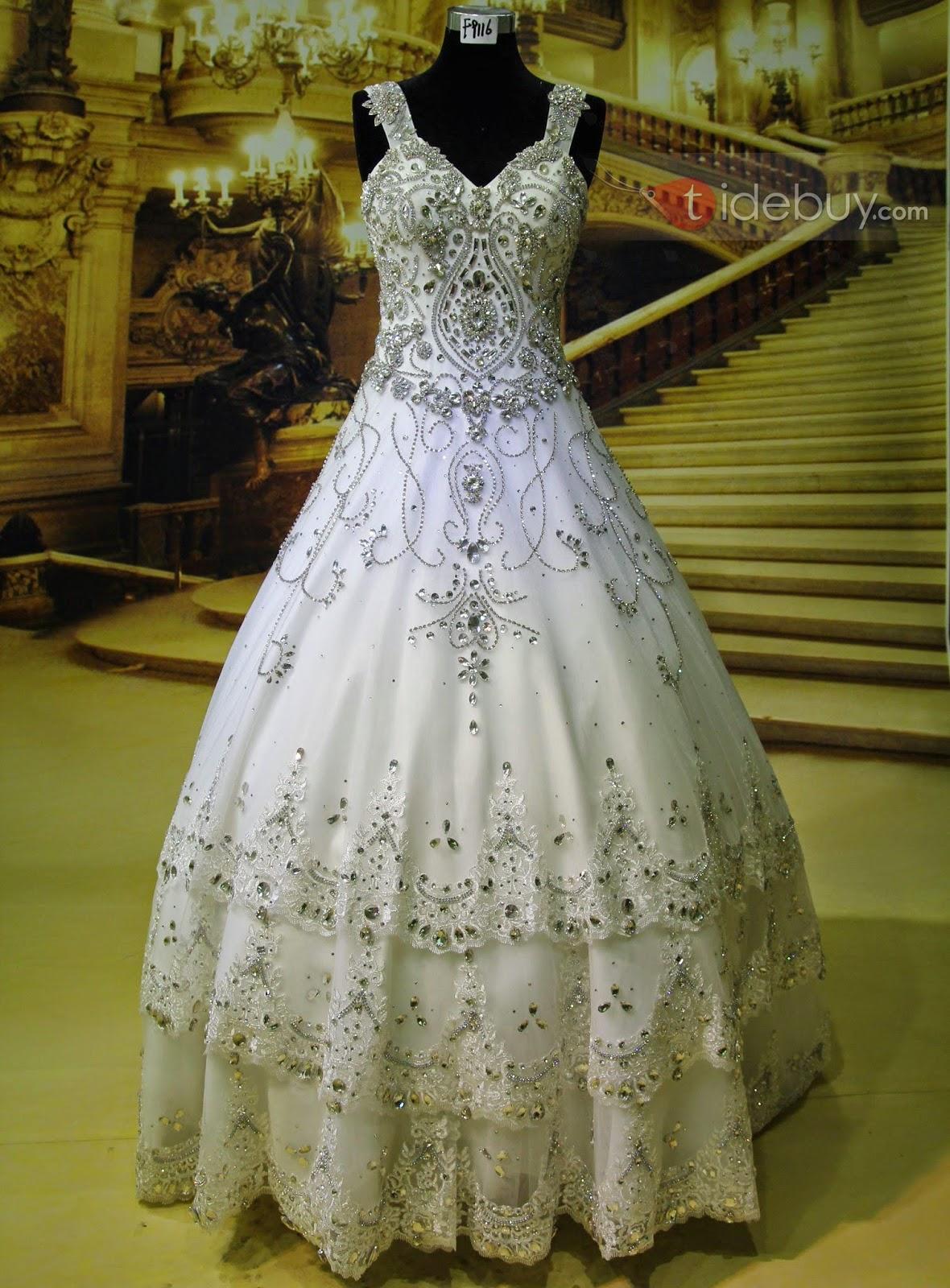 amazing bridal frock 2015
