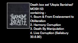 Ask Earache Napalm Death Live At Salisbury Cd Box Set