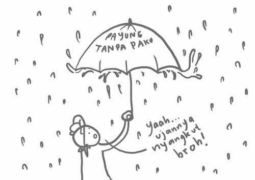 hujan naik