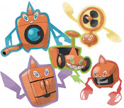 Rotom and its many forms and colours