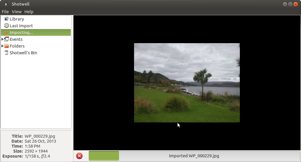 Eye of mate image viewer shotwell photo manager libreoffice draw