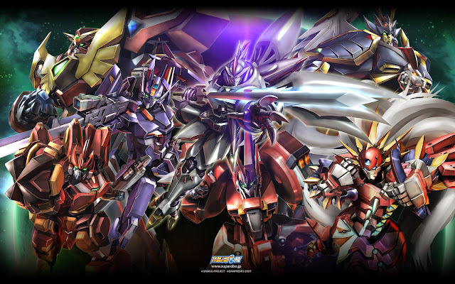 War Robot Games Novo Game de Super Robot Wars