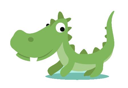 dibujos de cocodrilos para imprimir