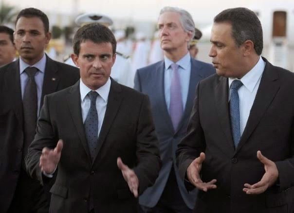 Manuel Valls à Tunis