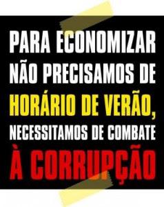 CORRUPÇÃO NÃO