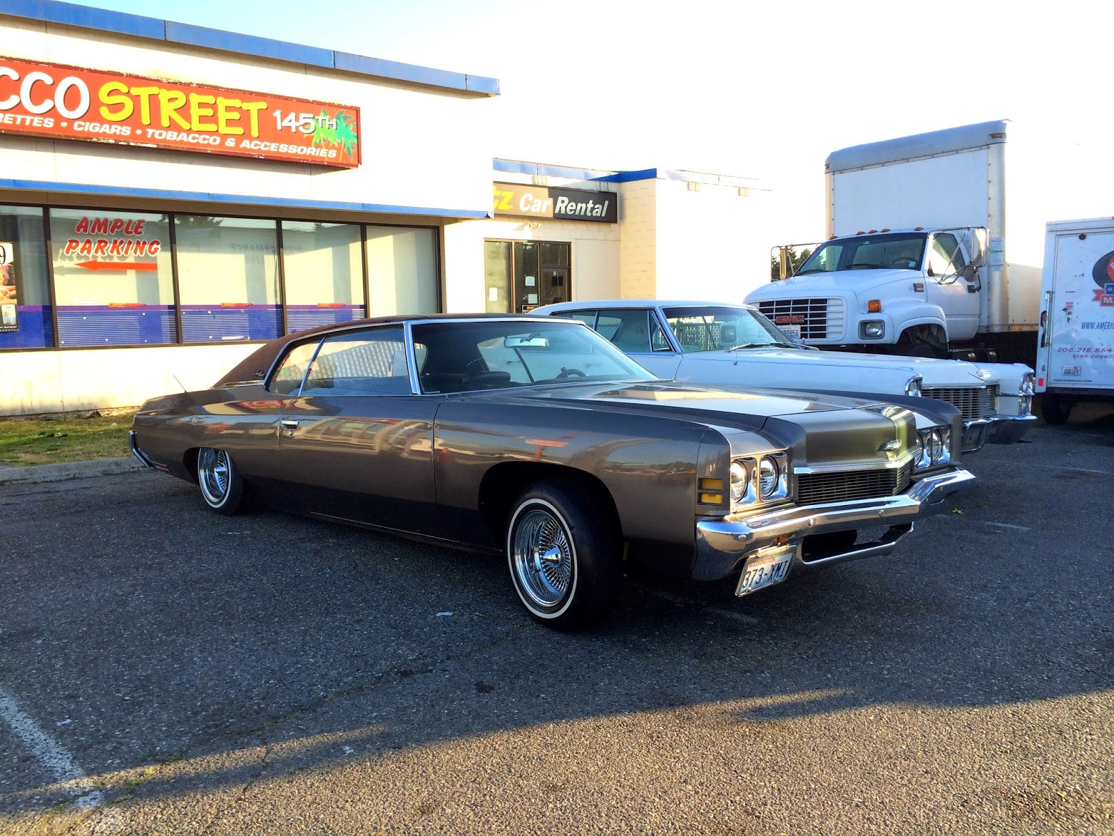 Warsaw In Chevrolet >> Seattle's Classics: 1972 Chevrolet Impala Custom