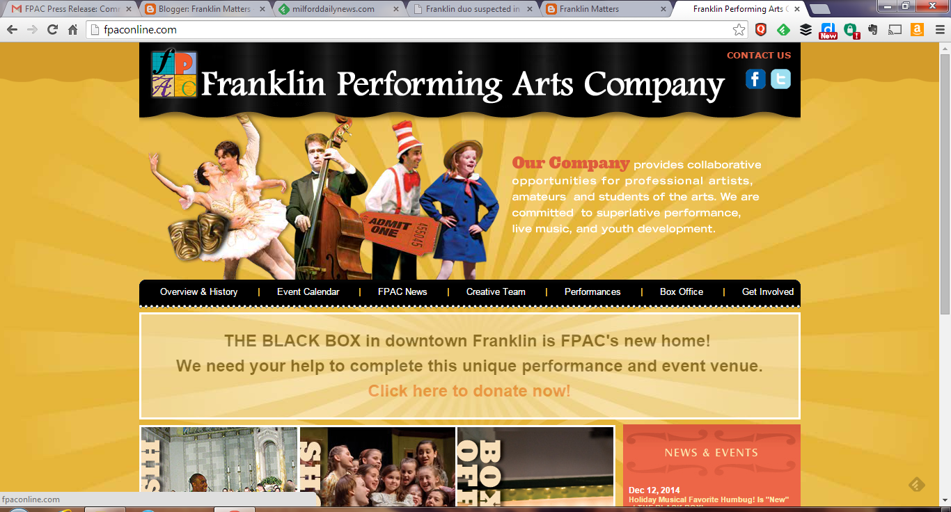 Franklin Performing Arts Company