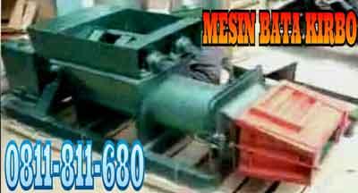 2000 bata jam isi paket mesin bata 1 mesin cetak bata dengan dua pedal