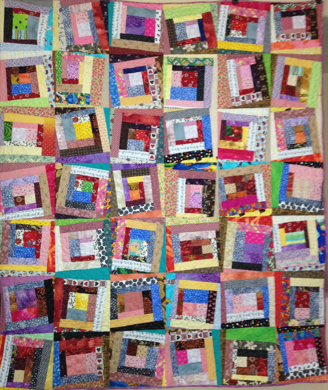 Ros the quilter quilting is my sanity scrap quilting for Scrap quilt