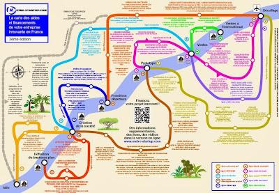 carte des aides et financements pour entreprise innovante - Antoine Vialle - metro-startup.com