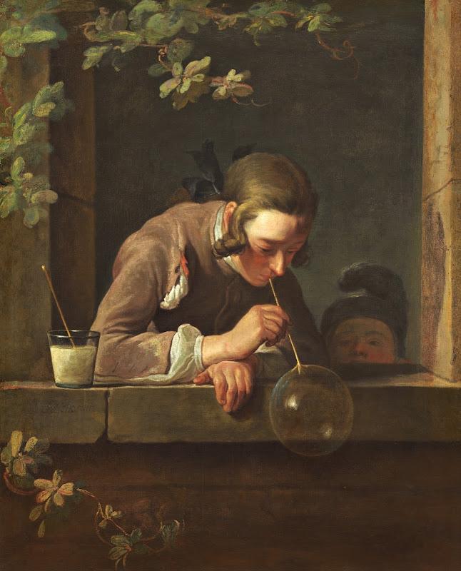 Jean Siméon Chardin - Soap Bubbles