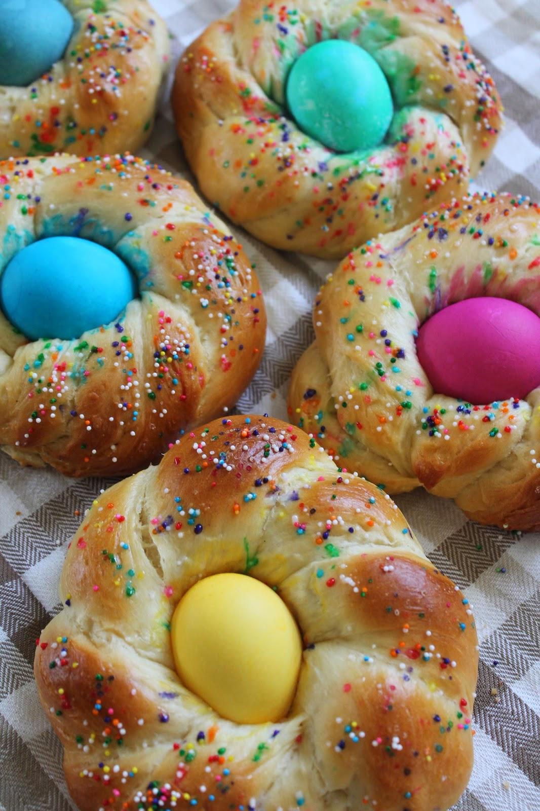 The cultural dish recipe italian easter egg bread