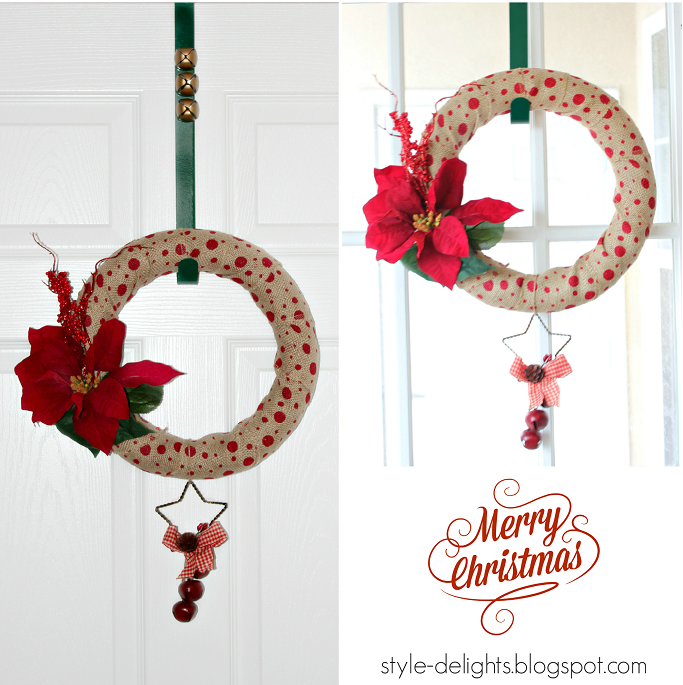 Christmas Wreath DIY, How To Make A Christmas Wreath, Holiday Decor ideas, Burlap Wreath Ideas, Holiday Wreaths, Christmas Wreath Beginner DIY